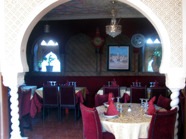 interieur du restaurant